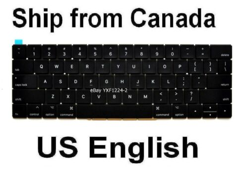 Keyboard for Apple MacBook A1706 A1707 US English