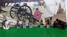 LEGO Civil War Rober E Lee & Confederate Army Soldier. NEW 100% Genuine LEGO