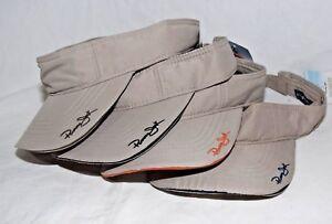9c6aff61 Panama Jack Original Casual Day Visor Hat Adult Choose logo & brim ...