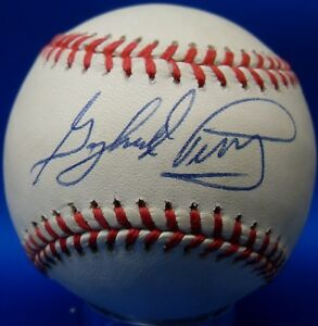 a537eb6a03d JSA Gaylord Perry Autographed Signed MLB Leonard S. Coleman Baseball ...