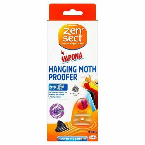 Zensect Moth Suspension étuve Tueur Insectifuge boules tissu Freshener Lavande