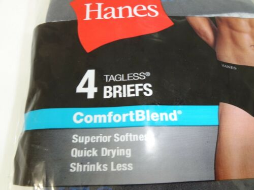 Hanes 4-Pack Ultimate Briefs Multi Size M