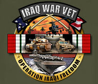 Iraq War Veteran Army Navy Usmc Marines National Guard Adult T-shirt