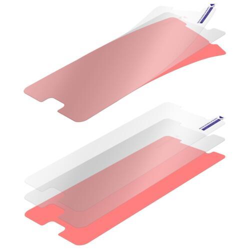 2 x protector de pantalla fiber-vidrio claro para huawei honor 6x lámina