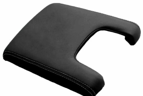 Center Console Armrest  Synthetic Leather Cover Acura TL 09-14 Gray Stitch