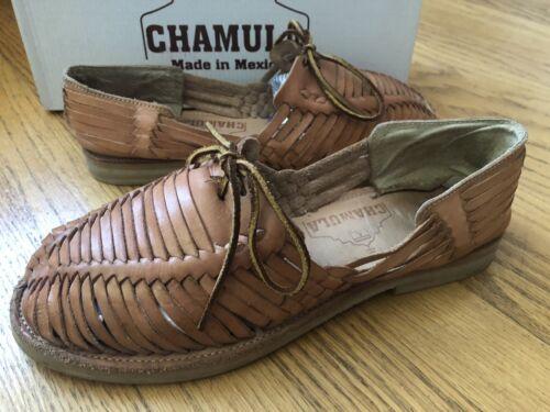 Chamula Mens Merida Huarache Sandals Shoes Leather