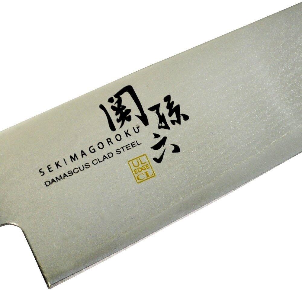 Nouveau Japonaise couteau de cuisine, SEKI MAGorKU Damas Gyuto 33 Couches Damas 180 mm