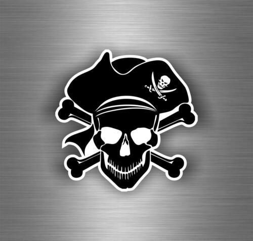 Autocollant sticker voiture corsaire decoration mural pirate bateau chambre r8