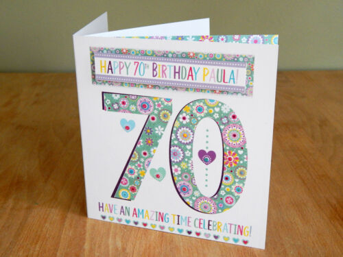 Birthday card special age cards for birthday 16th 18st 30th 40th 50th 60th 70th