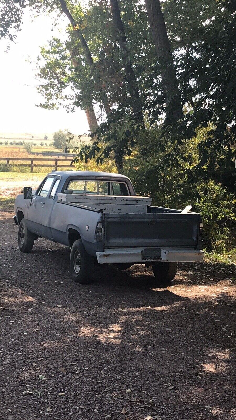 1978 Dodge Power Wagon adventurer