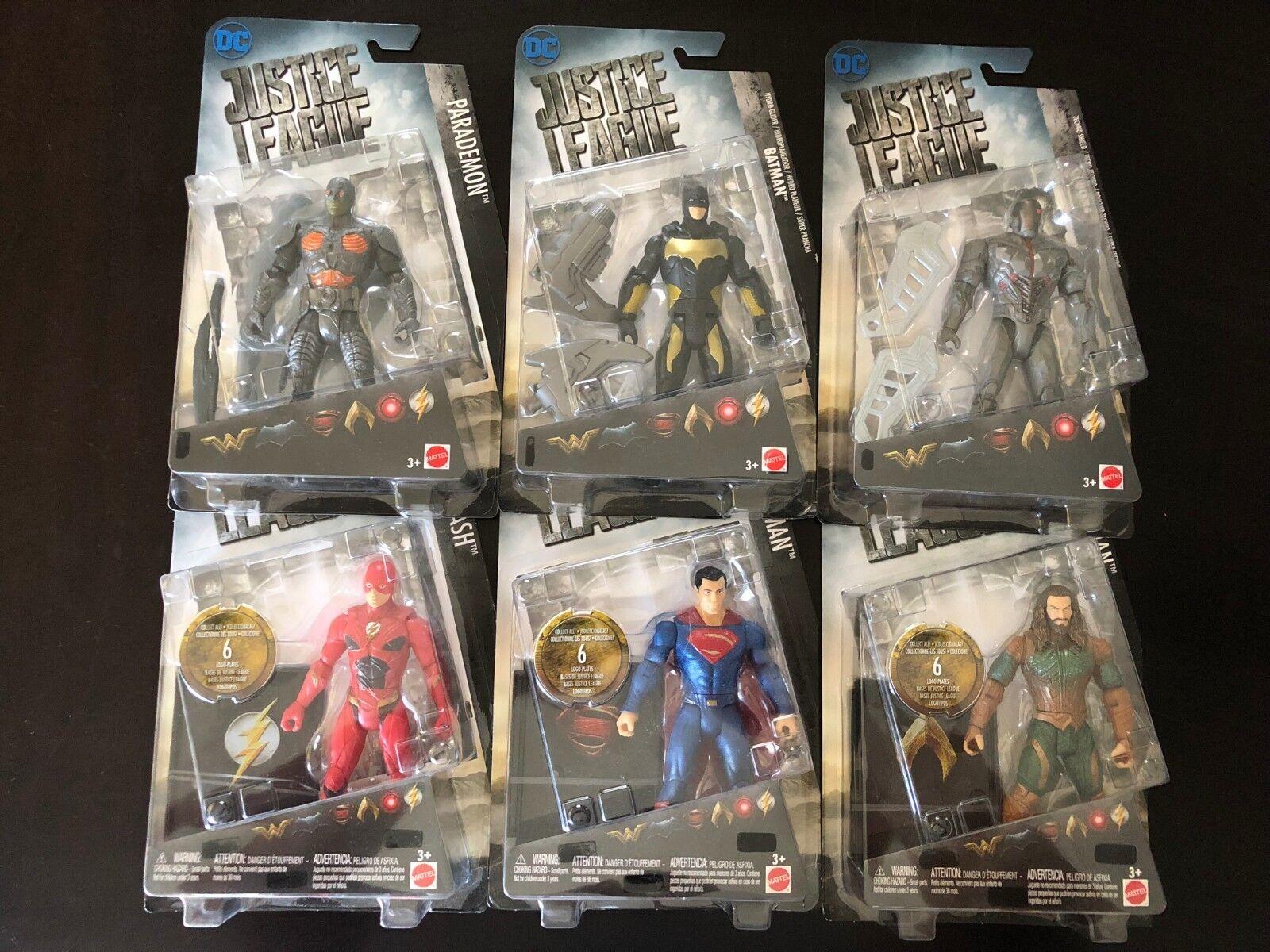 Die justiz liga viel parademon, batman, cyborg, der blitz, aquaman & superman vhtf