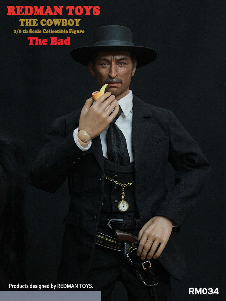 REDMAN TOYS RM034 The Cowboy The Bad 1 6 Scale Full Sets Male Figure Collectible