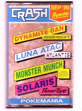 Crash Presents: September 1990 (Magazine Covertape) Spectrum 48k - GC & Complete