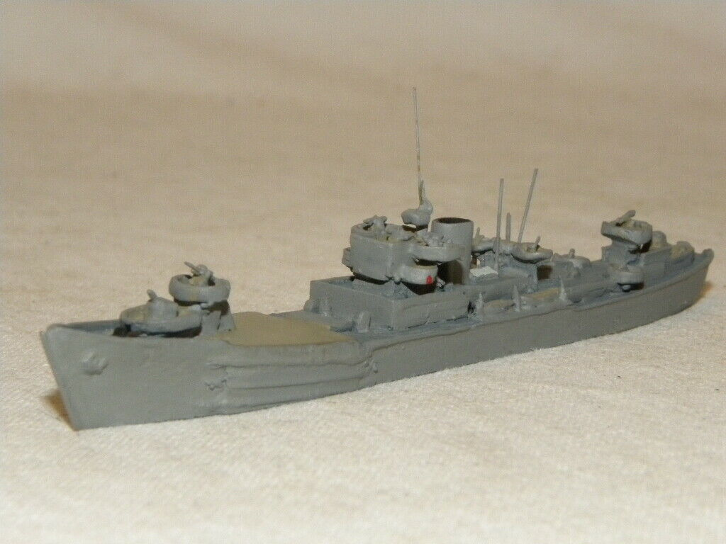 BATEAU NAVIRE DE GUERRE BOAT FÖRDE FD 87 SP-26 MOSTRAND SCALE MODEL SHIP 1 1250
