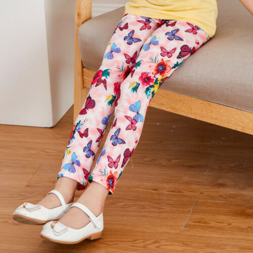 Kinder Hosen Kleinkinder Mädchen Dehnbar Bleistift Hosen Warm Leggings