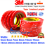 miniature 1 - 3M VHB DOUBLE SIDED TAPE ROLL VERY STRONG SELF ADHESIVE STICKY TAPE CLEAR BLACK