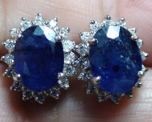 9a52d3332 Image is loading BEAUTIFUL-NATURAL-GENUINE-6-15-ct-BLUE-SAPPHIRE-