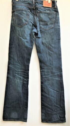 Bleu Strauss Hommes L34 Levi W32 Jeans Co 527 wIwZHq