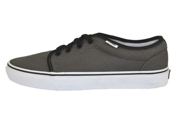 f83c520dfa Vans 106 VULCANIZED Pewter Black Canvas VN-099ZPBQ (269) Men s Skate Shoes