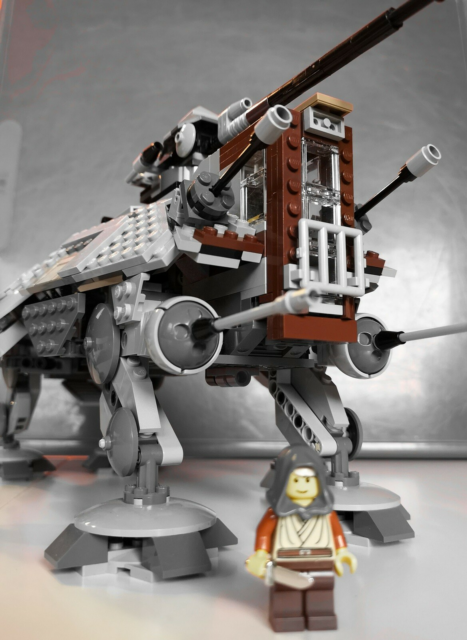 Lego Star Wars, 75019, Lego Star Wars AT-TE Walker.  Stor…