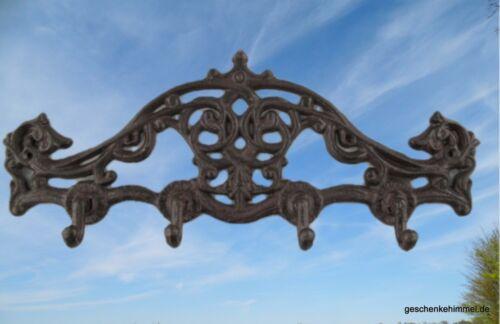 Garderobe Eisen Guss formschön edel und ausgefallen Jugendstil Deko Vintage