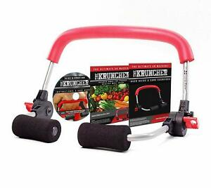 KRUNCHER Ultimate Ab Machine Burn Calories and Build Lean Muscle in just 5 MIN!
