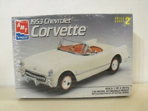 NEW-AMT-1953-CHEVROLET-CORVETTE-1-25-MODEL-KIT