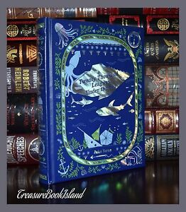 Twenty Thousand Leagues Under the Sea by Jules Verne New Sealed Leather Bound Ed