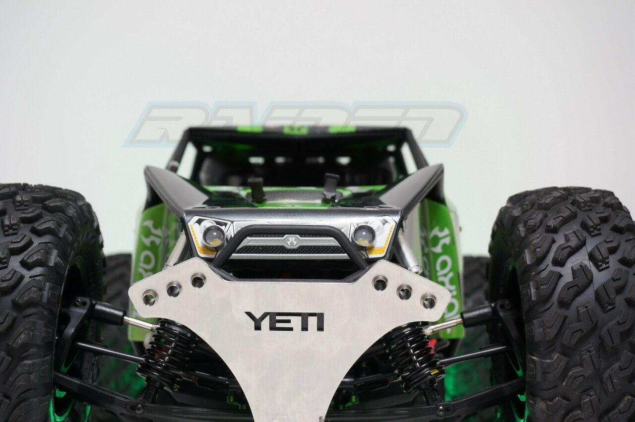 1 8 YETI XL davanti davanti davanti Head Light 2 LED & Rear Taillight with Steel Lamp Holder 15LED 9b6f9b