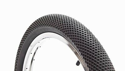 "CULT CREW VANS WAFFLE TIRE BMX BIKE 2.35 BLACK 20"" FIT S&M DEHART DAK"