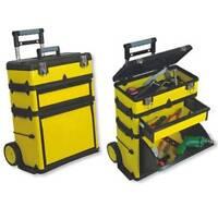 Yellow Portable Tool Shop.wheel Rolling Metal Cabinet Storage.workshop.