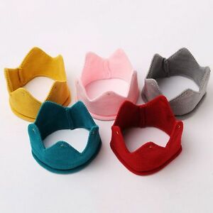 Baby-Kids-Headwear-Crown-Knit-Headband-Hat-Photography-Props-Boys-Girls-FY