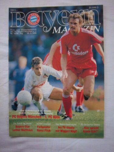 Orig.PRG   1.Bundesliga  1987/88   FC BAYERN MÜNCHEN - 1.FC KÖLN  !!  SELTEN