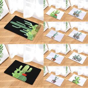Am-HOT-Cactus-Bathroom-Kitchen-Door-Anti-Slip-Floor-Mat-Rug-Home-Carpet-Pad-Lit