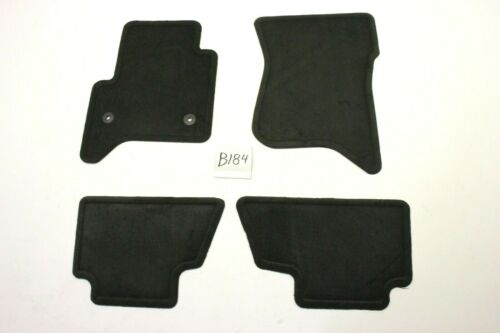 New OEM GM Black Carpeted Floor Mats Front Year 2015-2020 Tahoe Yukon Suburban