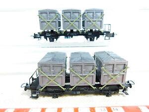 Bx47-0-5-2x-TRIX-h0-3458-conserve-rendement-voiture-sans-essieux-de-maison-en-maison-DB