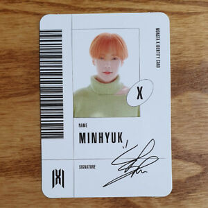 Minhyuk-Official-Identity-Card-Monsta-X-Mini-Album-Follow-Find-You-Photocard