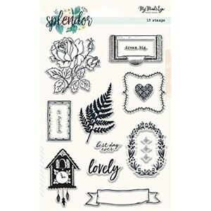 HonnêTe Splendor Clear Stamps --afficher Le Titre D'origine