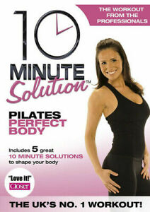 10-Minute-Solution-Pilates-Perfect-Body-DVD-New-Exercise-Fitness-Home-Workout