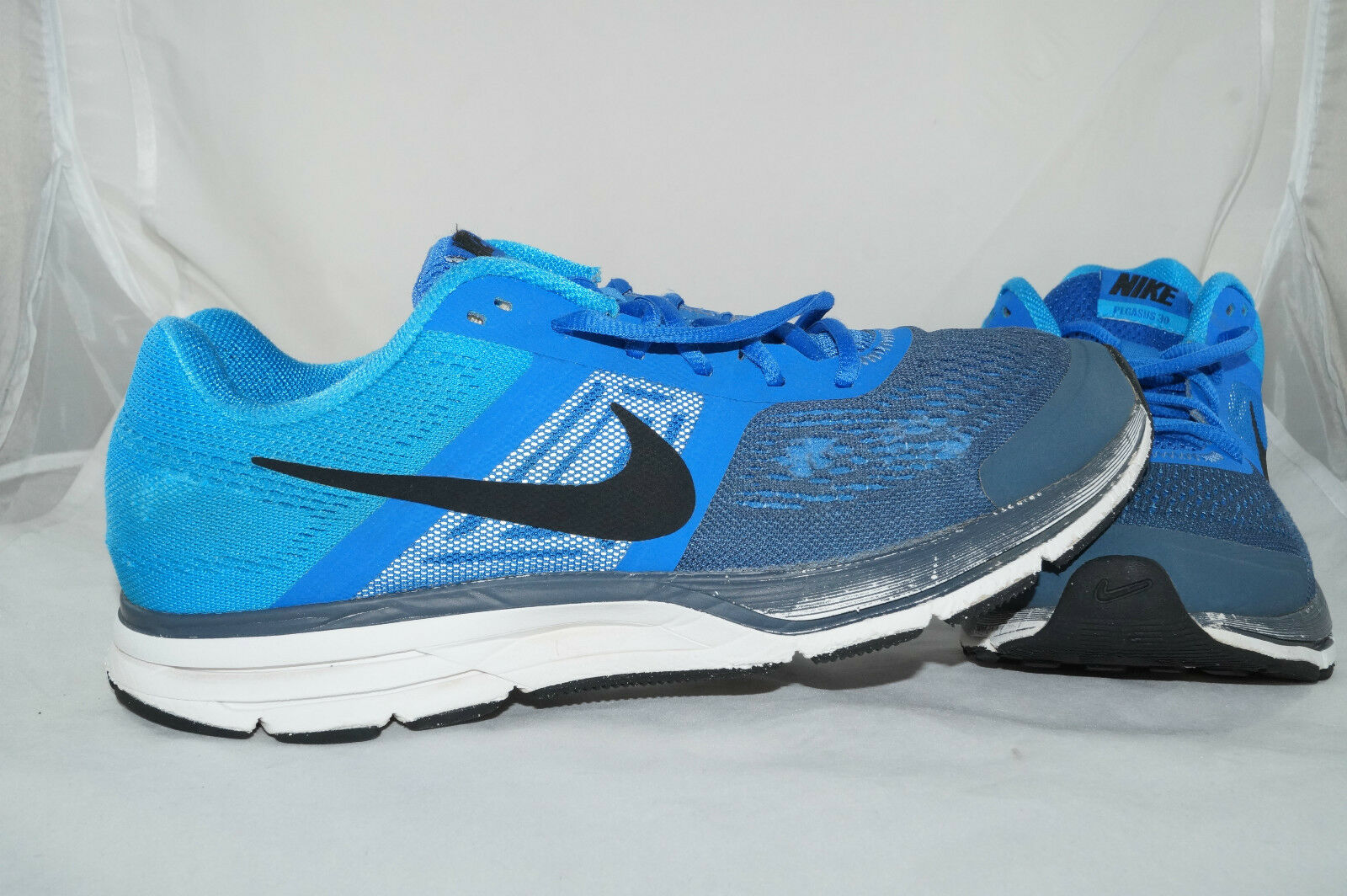 Nike Air Pegasus Pegasus Air +30 GR: 44 - 43,5 Blau Running LaufZapatos Jogging 7f5361