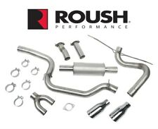 2013 2018 Ford Focus Roush 421610 3 Cat Back Performance Exhaust System With Tips Fits Focus