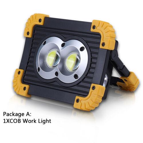 50 W portable chip-on-board DEL Work Light Lampe De Poche Projecteur Rechargeable USB Outdoor