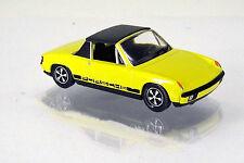Wiking 079205 Volkswagen VW - Porsche 914  gelb ( mit Fuchs-Felgen )