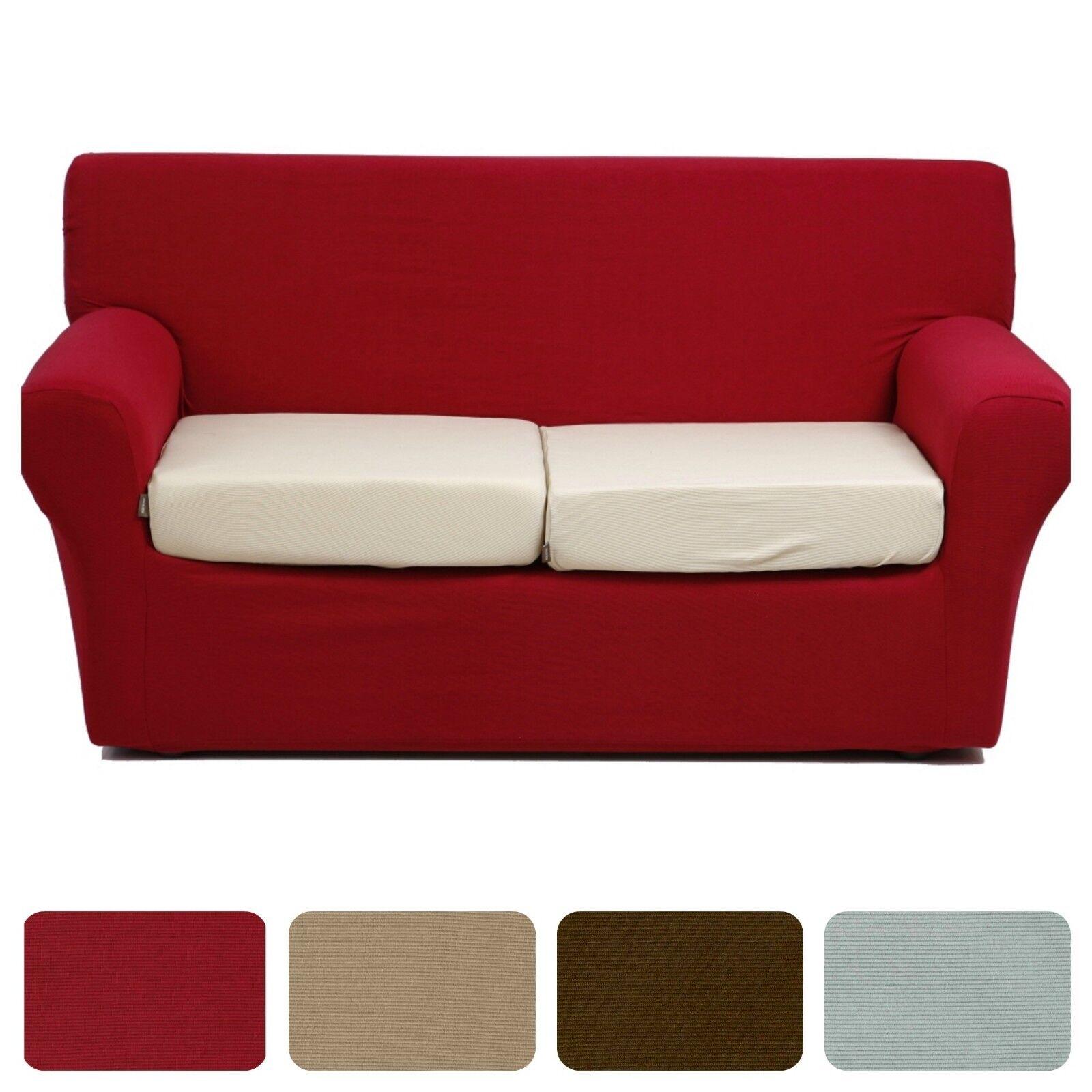 Copridivano 4 posti bielastico rigoletto per divano max cm 220 vari colori ebay - Copricuscini divano bassetti ...