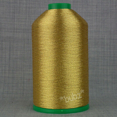 8  GOLD//SILVER Embroidery Metallic Threads 2,000 meters Each Spool