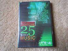 SNL LIVE MUSIC DVD VOL 4 MADONNA PAUL McCARTNEY of THE BEATLES NIRVANA + SEALED