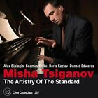 The Artistry of the Standard by Misha Tsiganov (CD, Mar-2014, Criss Cross)