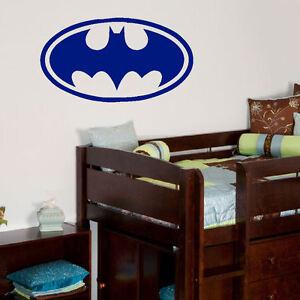 GRANDE logo Batman Wall Sticker Arte Trasferimento Di Qualità Taglio Vinile Matt  </span>