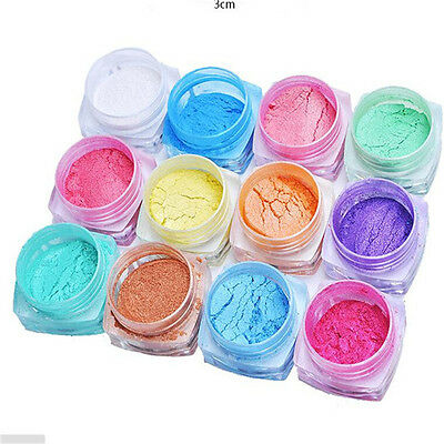 2g/Box Shinning Mirror Glitter Powder Nail Art Sequins Chrome Pigment Decoration