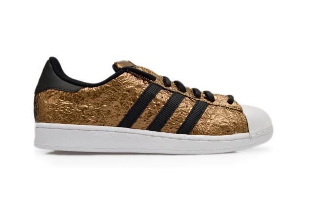 Mens Adidas Superstar metallic Gold RARE AQ2952 Gold Mettalic Trainers